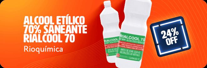 Alcool Etílico Rioquimica com frete grátis | Dental Cremer Produtos Odontológicos