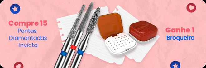 Compre 15 pontas Invicta e ganhe brinde | Dental Cremer Produtos Odontológicos