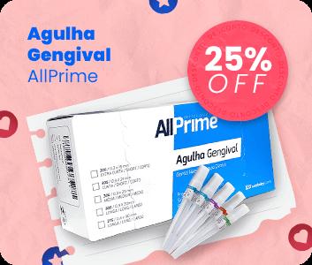 Agulha Gengival Allprime com 25% OFF e frete grátis | Dental Cremer Produtos Odontológicos
