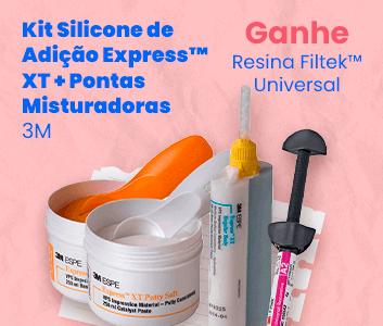 Kit Silicone de Adição 3M com brinde e frete grátis   Dental Cremer Produtos Odontológicos