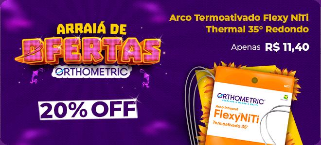 Ofertas week Orthometric Arco Niti com 20% OFF e frete grátis   Dental Cremer Produtos Odontológicos