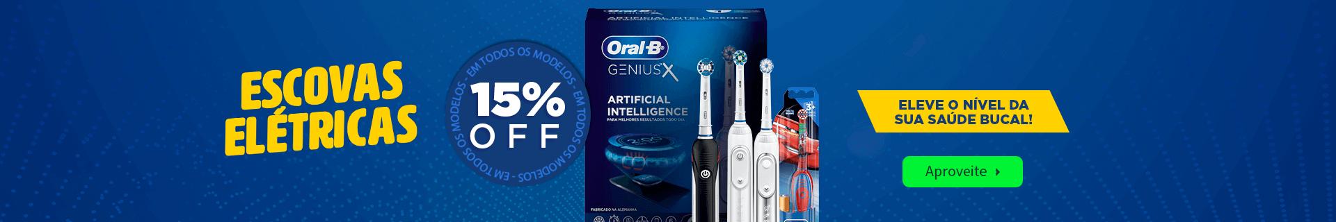 Escova Elétrica 15% OFF com frete grátis na Dental Cremer Produtos Odontológicos