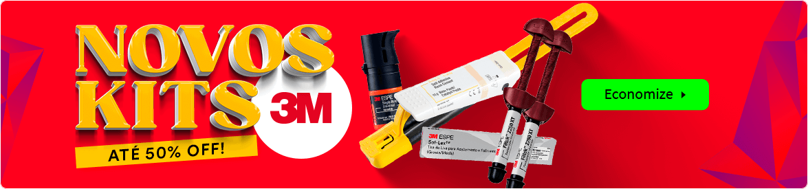 Novos Kits 3M com até 50% OFF   Dental Cremer Produtos Odontológicos