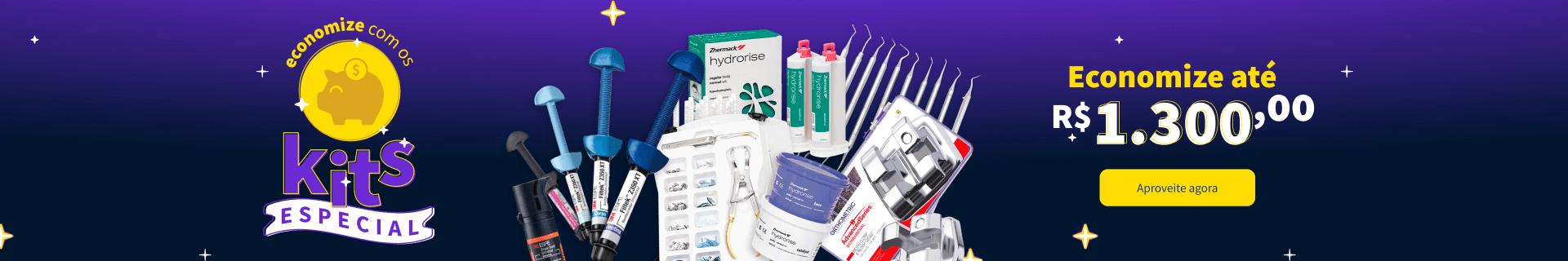 Kits Econômicos na Dental Cremer Produtos Odontológicos