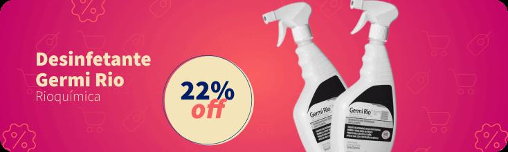 Desinfetante Rioquimica 22% OFF | Dental Cremer Produtos Odontológicos