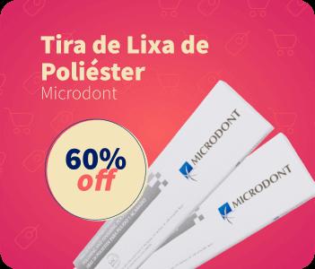 Tira de Lixa Microdont 60% OFF | Dental Cremer Produtos Odontológicos