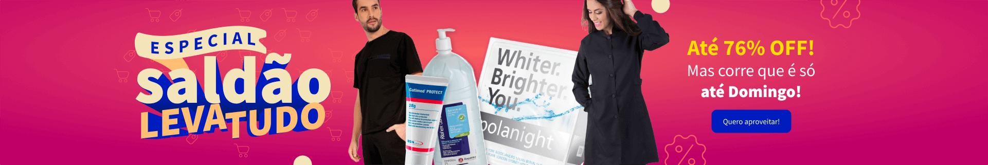 Saldão Leva Tudo com até 76% OFF na Dental Cremer Produtos Odontológicos