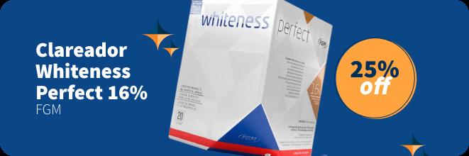 Clareador Whiteness FGM com 25% OFF | Dental Cremer Produtos Odontológicos