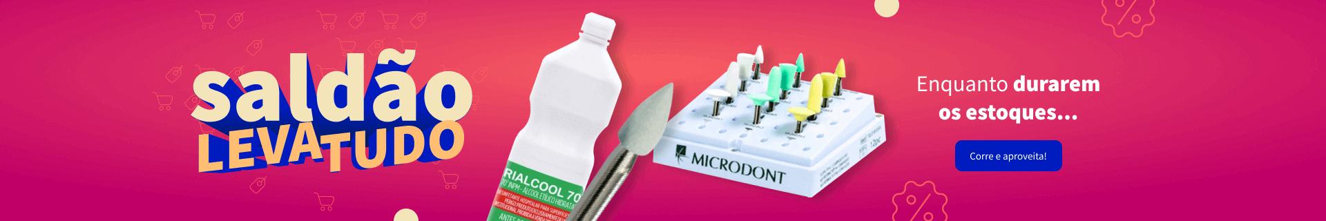 Saldão Leva tudo na Dental Cremer Produtos Odontológicos
