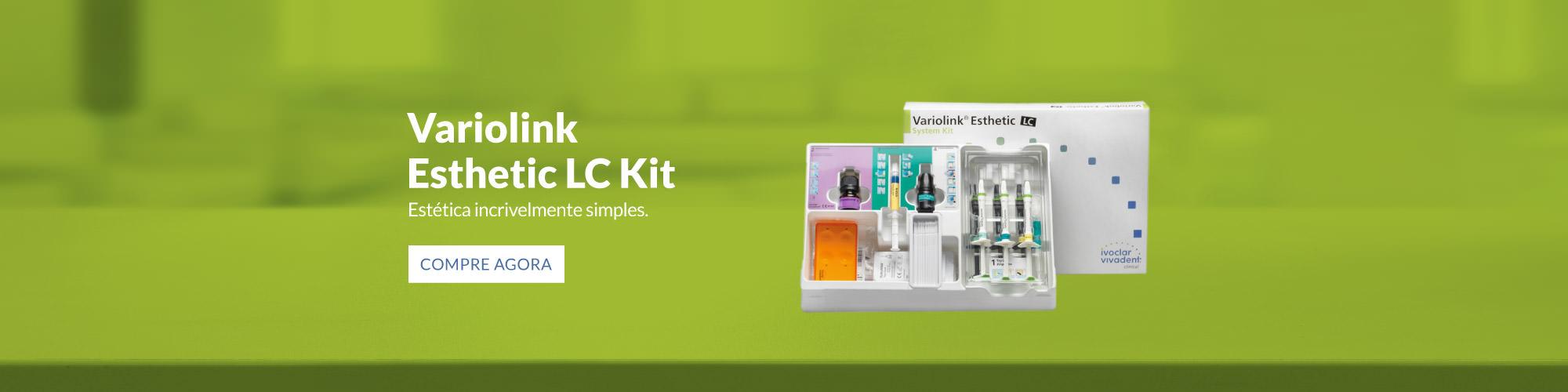 Variolink Esthetic LC Kit - Estética incrivelmente simples.