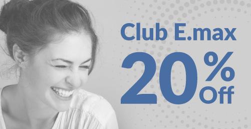 Club E.max 20% Off