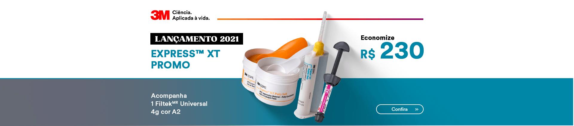 Kit Lançamento Silicone de Adição 3M com melhor preço | Dental Cremer