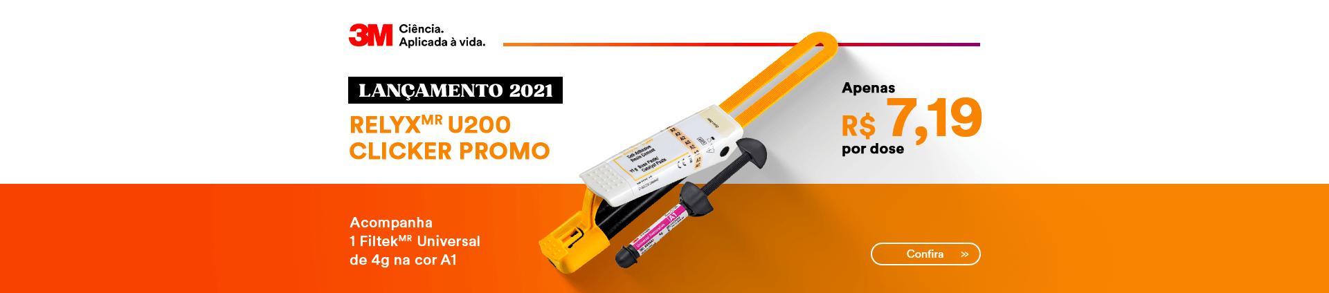 Kit Lançamento 3M Cimento Relyx U200 3M com melhor preço | Dental Cremer