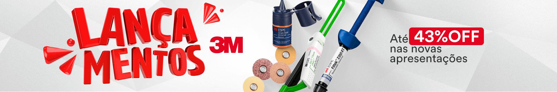 Lançamentos 3M com até 43% OFF | Dental Cremer Produtos Odontológicos