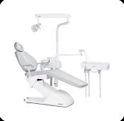 Cadeira  odontológica de pedal com comando joystick