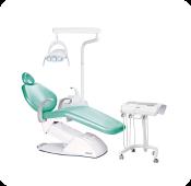Cadeira de dentista tecnológica