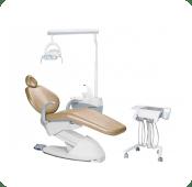 cadeira odontologica com equipo cart