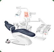 Cadeira odontológica confortável