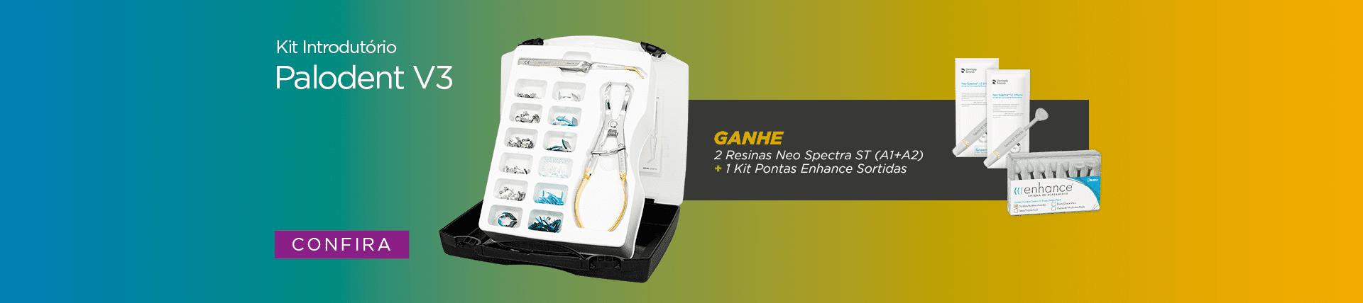 Confira Kit Introdutório Palodent V3 da Dentsply Sirona e Ganhe Brinde | Dental Cremer