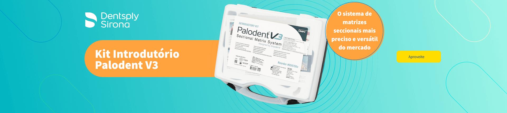Confira Kit Introdutório Palodent V3 Dentsply Sirona   Dental Cremer