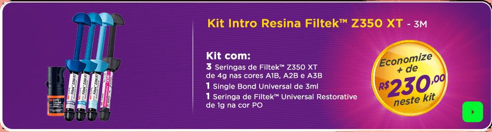 Kit Intro Resina Filtek Z350 XT 3M com frete grátis | Dental Cremer
