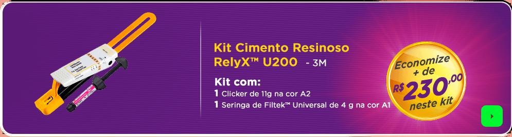 Cimento Relyx + Resina Filtek 3M com frete grátis | Dental Cremmer