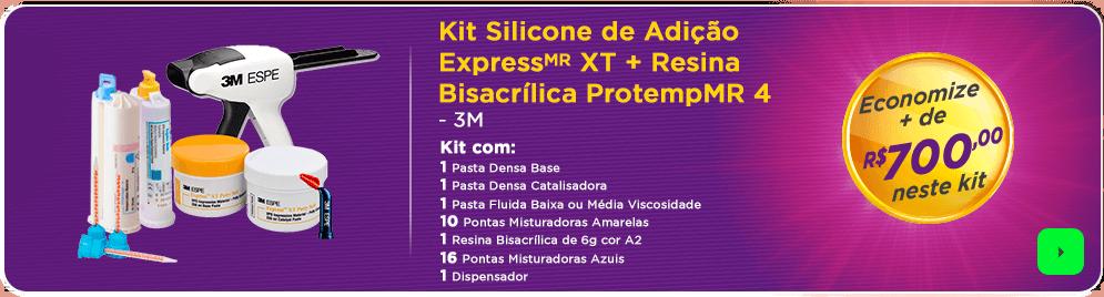 Kit Silicone de Adição Express 3M com frete grátis | Dental Cremer
