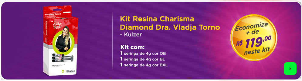 Resina Charisma Kulzer com Frete Grátis | Dental Cremer