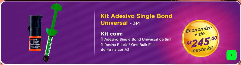Kit Adesivo Single Bond 3M | Melhor escolha para seu consultório | Dental Cremer