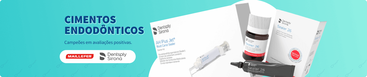 Confira Cimentos Endodônticos na Dental Cremer Produtos Odontológicos