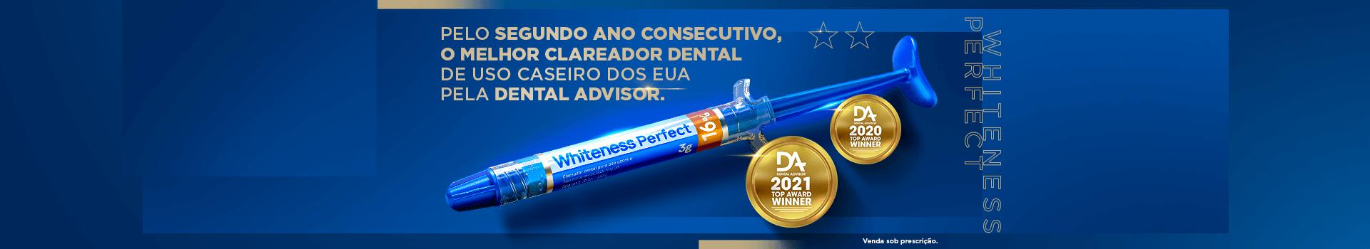 Clareador Whiteness Perfect FGM na Dental Cremer Produtos Odontológicos