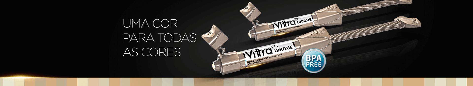 Resina Vittra APS uma cor para todas as cores na Dental Cremer Produtos Odontológicos