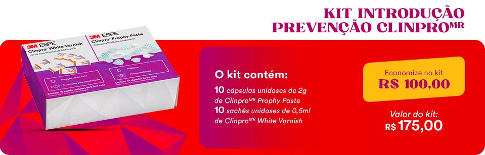 Kit Promocial Capsulas Unidoses Clinpro + Saches Unidoses Cilinpro White 3M | Dental Cremer