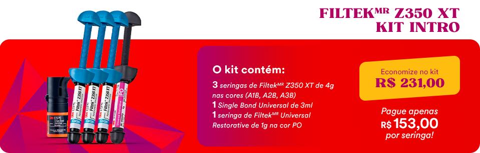 Kit FiltekMR Z350 XT + Kit Intro + Single Bond Univeral | Dental Cremer