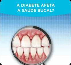A diabete afeta a saúde bucal?