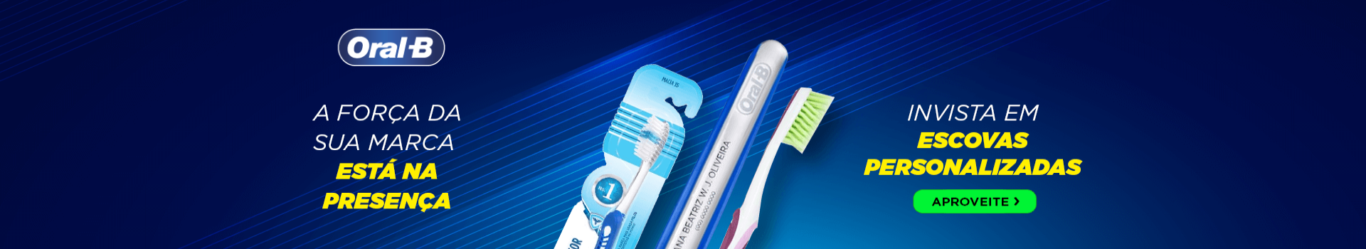 Escova de dente personalizada