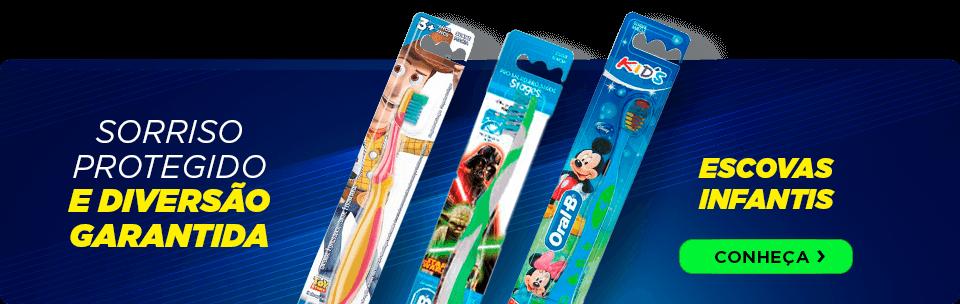 Saúde bucal e diversão combinam Escovas Infantis Oral-B | Dental Cremer