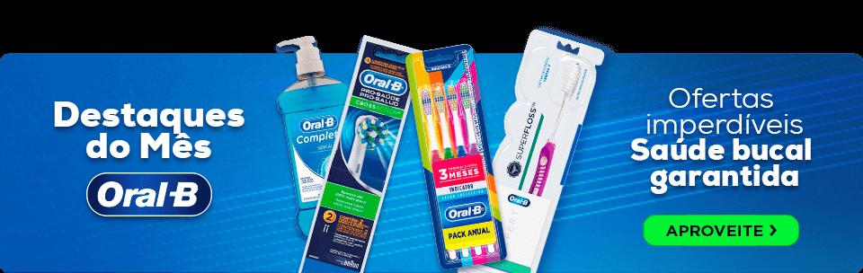 Ofertas imperdíveis Saúde Bucal Oral-B | Dental Cremer