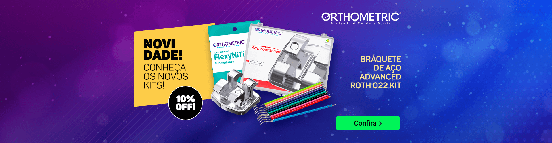 Novos Kits Orthometric com 10% OFF | Dental Cremer