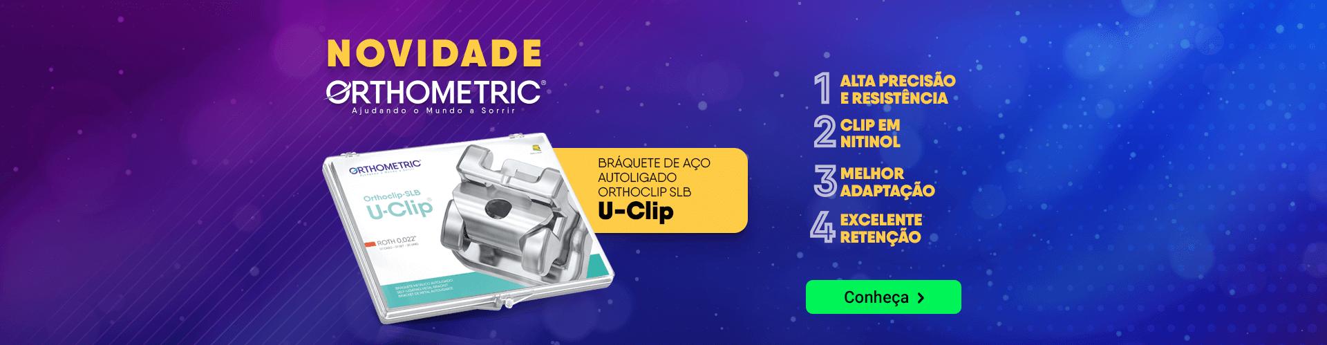Novidade Orthometric Braquete Autoligado U-Clip com frete grátis | Dental Cremer