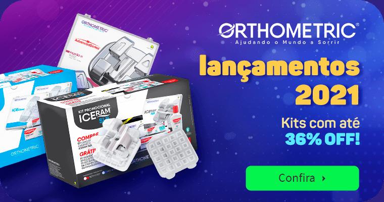 Lançamento Novos Kits Orthometric com até 23% OFF  | Dental Cremer
