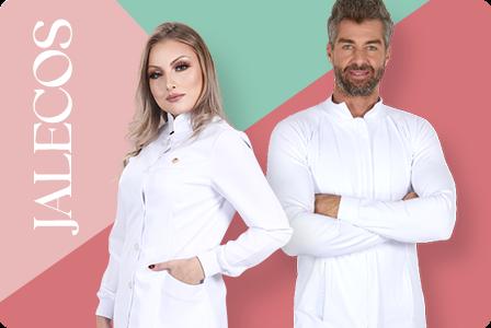 Jaleco Feminino e Masculino para Dentista
