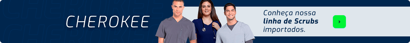 Vestuário Cherokee com frete grátis na Dental Cremer Produtos Odontológicos