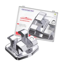 Bráquete de Aço Advanced Roth Bidimensional 018 e 022 Kit - Orthometric