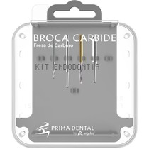 Kit Endodontia Broca Carbide - Angelus Prima Dental