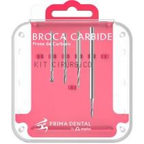 Kit Cirúrgico Broca Carbide - Angelus Prima Dental