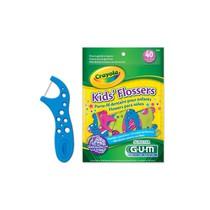 Fio Dental Gum Flosser Kids Crayola - Sunstar