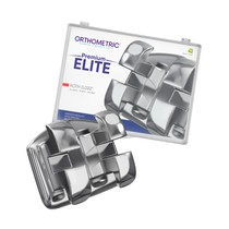 Bráquete de Aço Premium Elite Roth 022 Kit - Orthometric