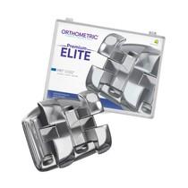 Bráquete de Aço Premium Elite MBT 022 Kit - Orthometric