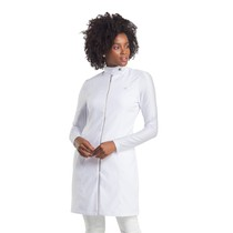 Jaleco Feminino Stylish Branco - Dra. Cherie